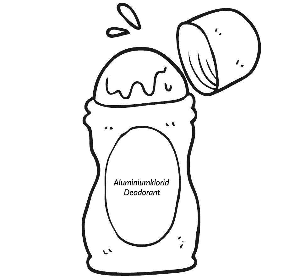 aluminiumklorid deodorant Ansicht