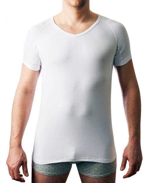 DRYWEAR T-shirt V Auschnitt Frontansicht