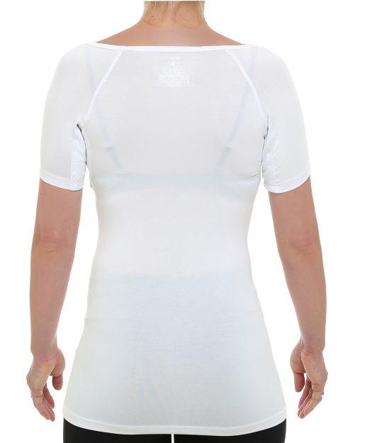 Drywear Anti Schweiß Shirt Damen runder Kragen Ansicht hinten