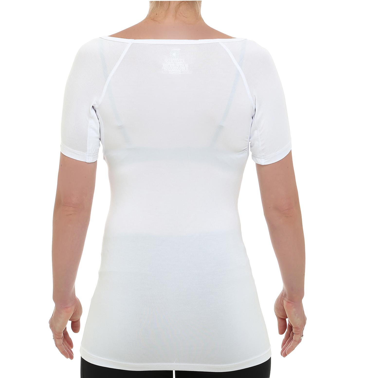 a2e9954b82a354 Drywear Anti Schweiß Shirt Damen runder Kragen Ansicht hinten