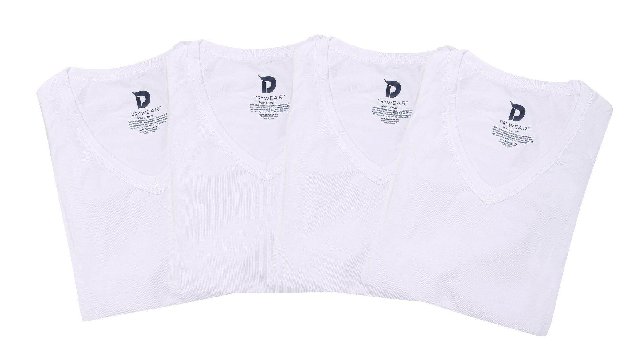 4er Vorteilspaket T-Shirt weiß