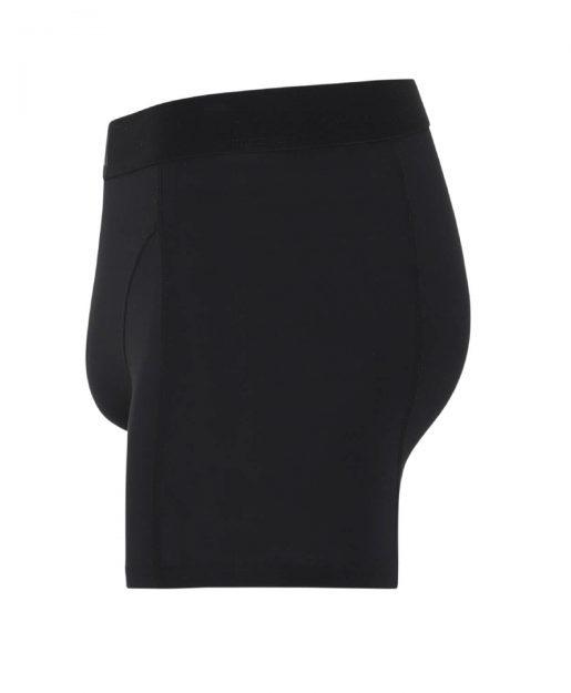 Standard boxershorts schwarz seitenansicht
