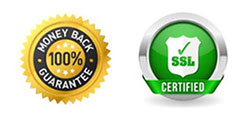 SSL und Geld zurück Garantie